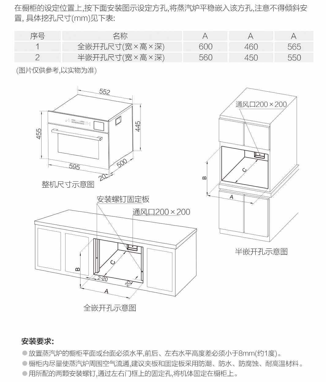 蒸箱 ZQB400-S273X